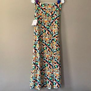 NWT LuLaRoe Maxi Skirt Size Small Candy Colored